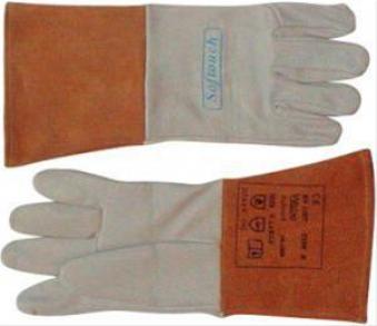 WIG-Hands. Zieg.leder supersoft L 1Paar WELDAS Bild 1