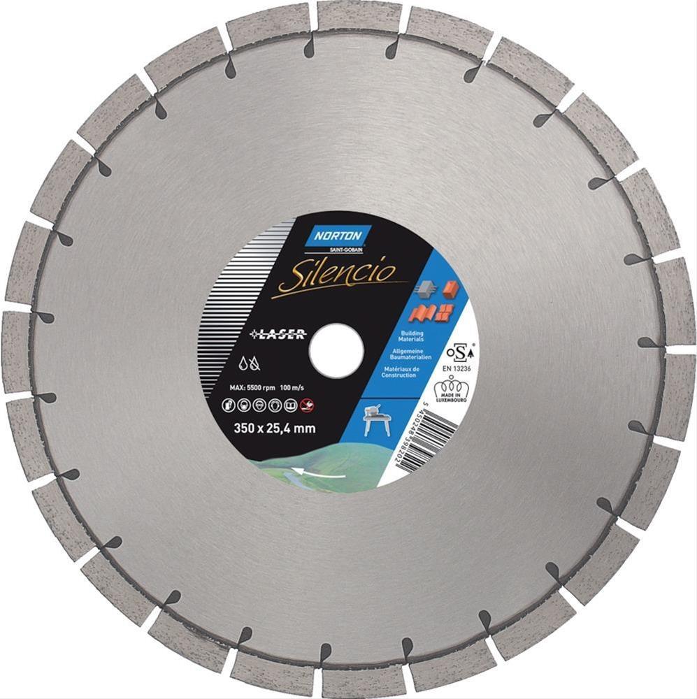 Cl.Diamant-Trenn.Silencio350x25,4mm H15 Tischsäge Bild 1