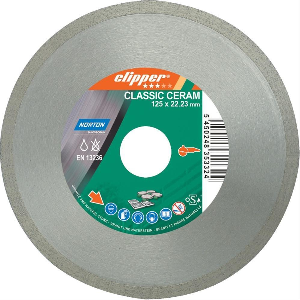 Clipper Diamant-Trenn CLACeram 1670 115x22,23 mm Bild 1