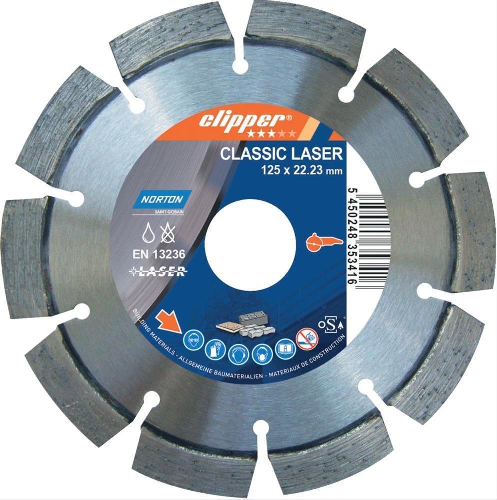 Clipper Diamant-Trenn CLALaser 25100 230x22,23 mm Bild 1