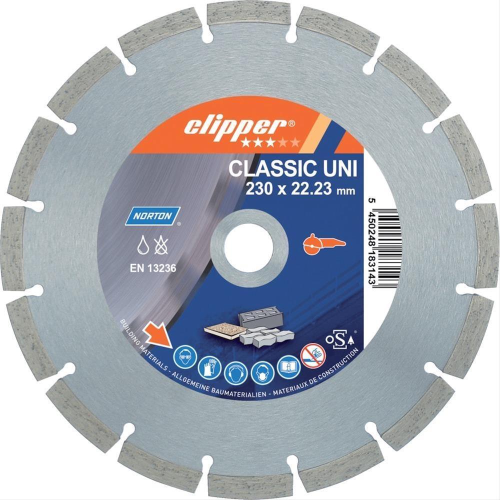 Clipper Diamant-Trenn CLAUni 22100 180x22,23 mm Bild 1