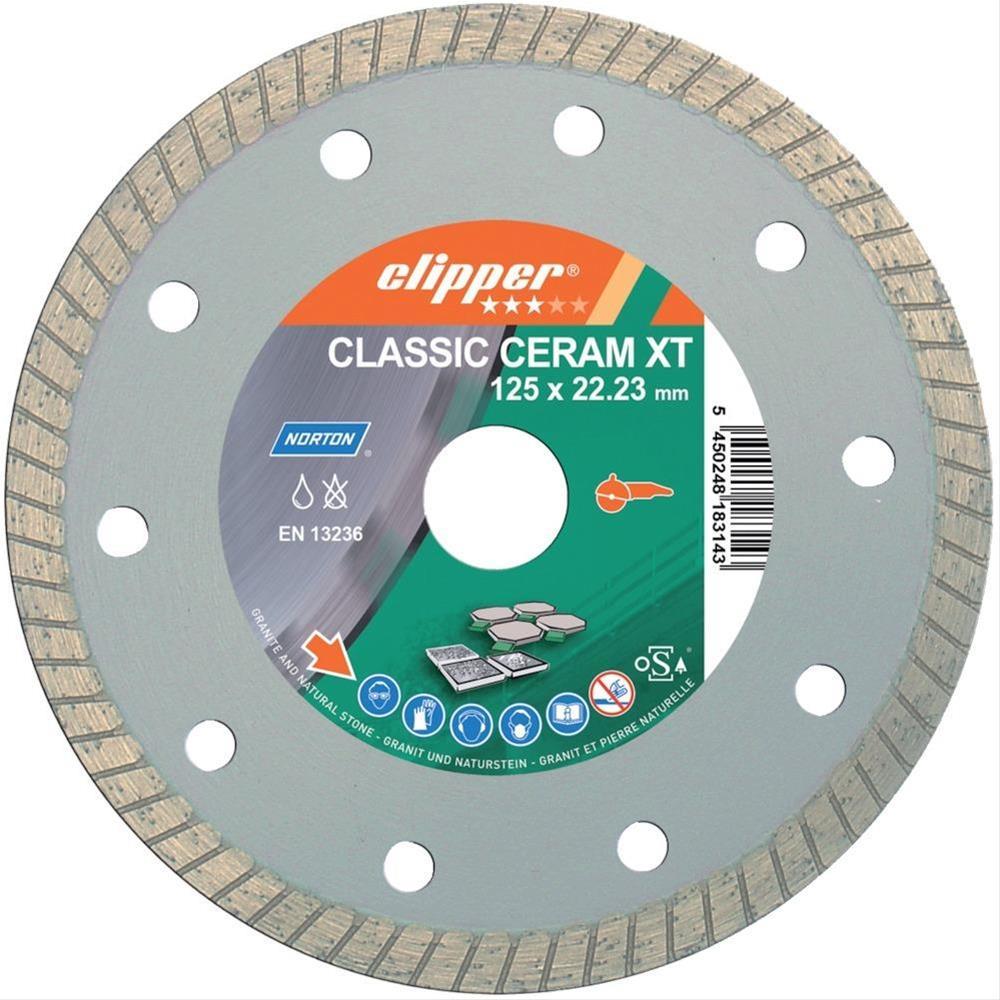 Diam.T.Scheibe Classic Ceram XT 125x22,23 Bild 1