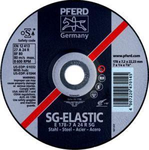 Schruppscheibe A24RSG 230x8,3mm gekr. Pferd Bild 1