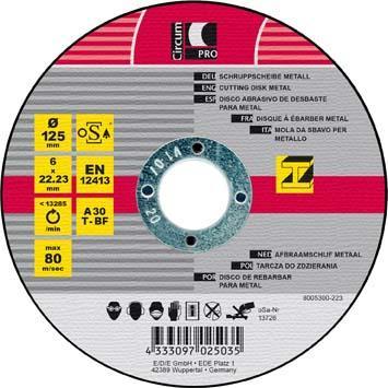 Schruppscheibe Metall 115x6 mm CircumPRO Bild 1