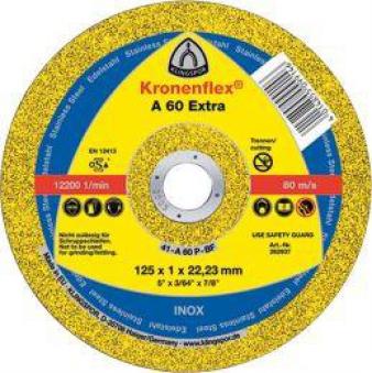 Trennscheibe A60 Extra 125x1,0mm ger. Klingspor Bild 1