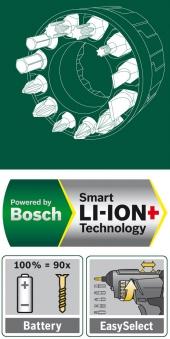 Bosch Akkuschrauber PSR Select 3,6 Volt Bild 4