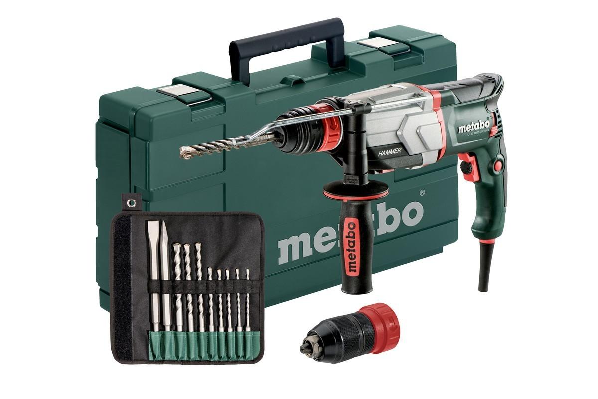 metabo bohrhammer / multihammer uhe 2660-2 quick set 800 watt - bei