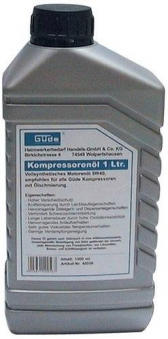 Kompressorenöl Güde 5W40 Vollsyntetic 1 L