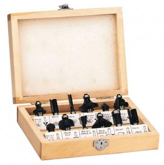 Oberfräsersatz im Holzkoffer Einhell für TH-RO 1100 E / TR-RO 55