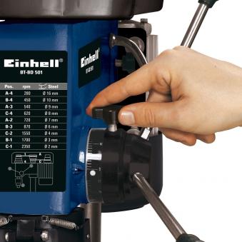 Einhell Säulenbohrmaschine BT-BD 501 500 Watt Bild 2