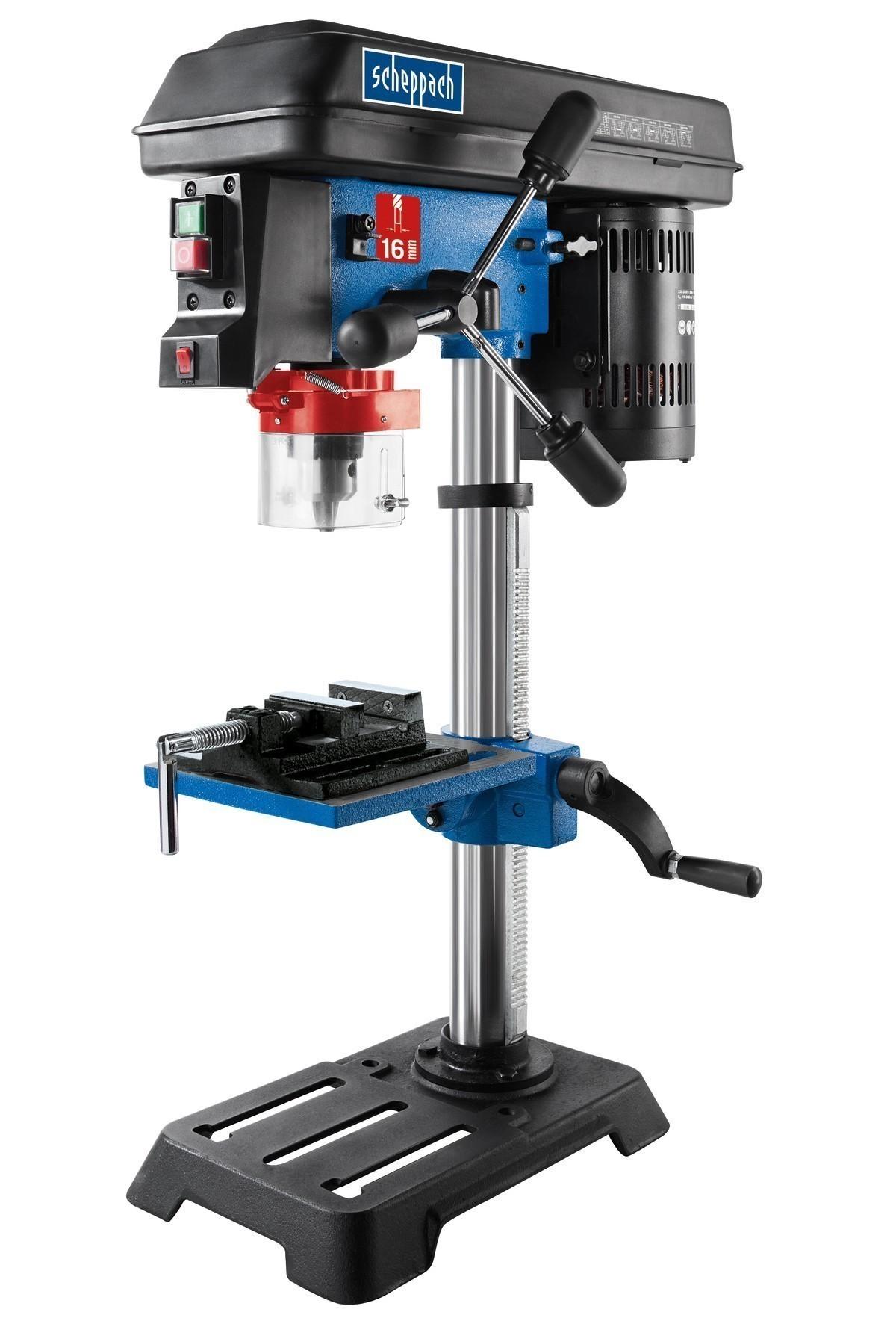 Scheppach Bohrmaschine / Tischbohrmaschine DP16SL 230V 550W Bild 1