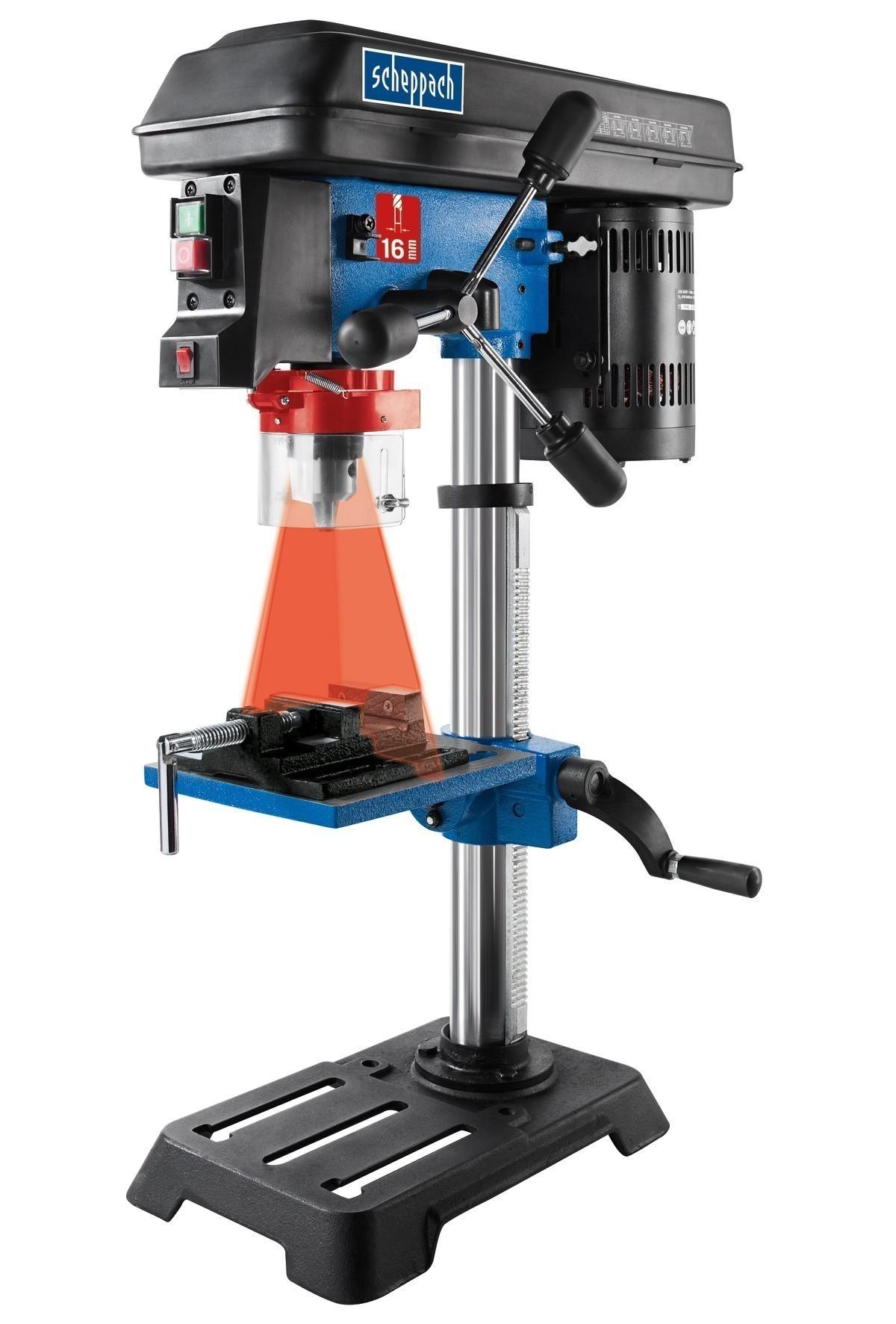 Scheppach Bohrmaschine / Tischbohrmaschine DP16SL 230V 550W Bild 2