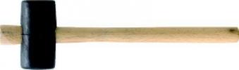 Gummi-Komp.Hammer hart 75mm flach/flachCircumPRO Bild 1