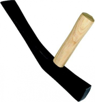 Pflasterhammer 1500g rheinische Form Bild 1