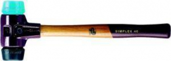 Schonhammer SIMPLEX 50mm TPE-soft/Gum. Halder Bild 1