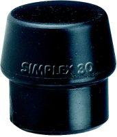 Schonhammerkopf SIMPLEX 50mm Gummi Halder Bild 1