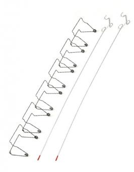 Starter-ClampSet / Klemm-Set zur Staubschutztür / Staubschutzsystem Bild 1