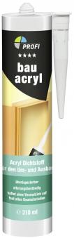 Bau Acryl PROFI weiss 310 ml Bild 1