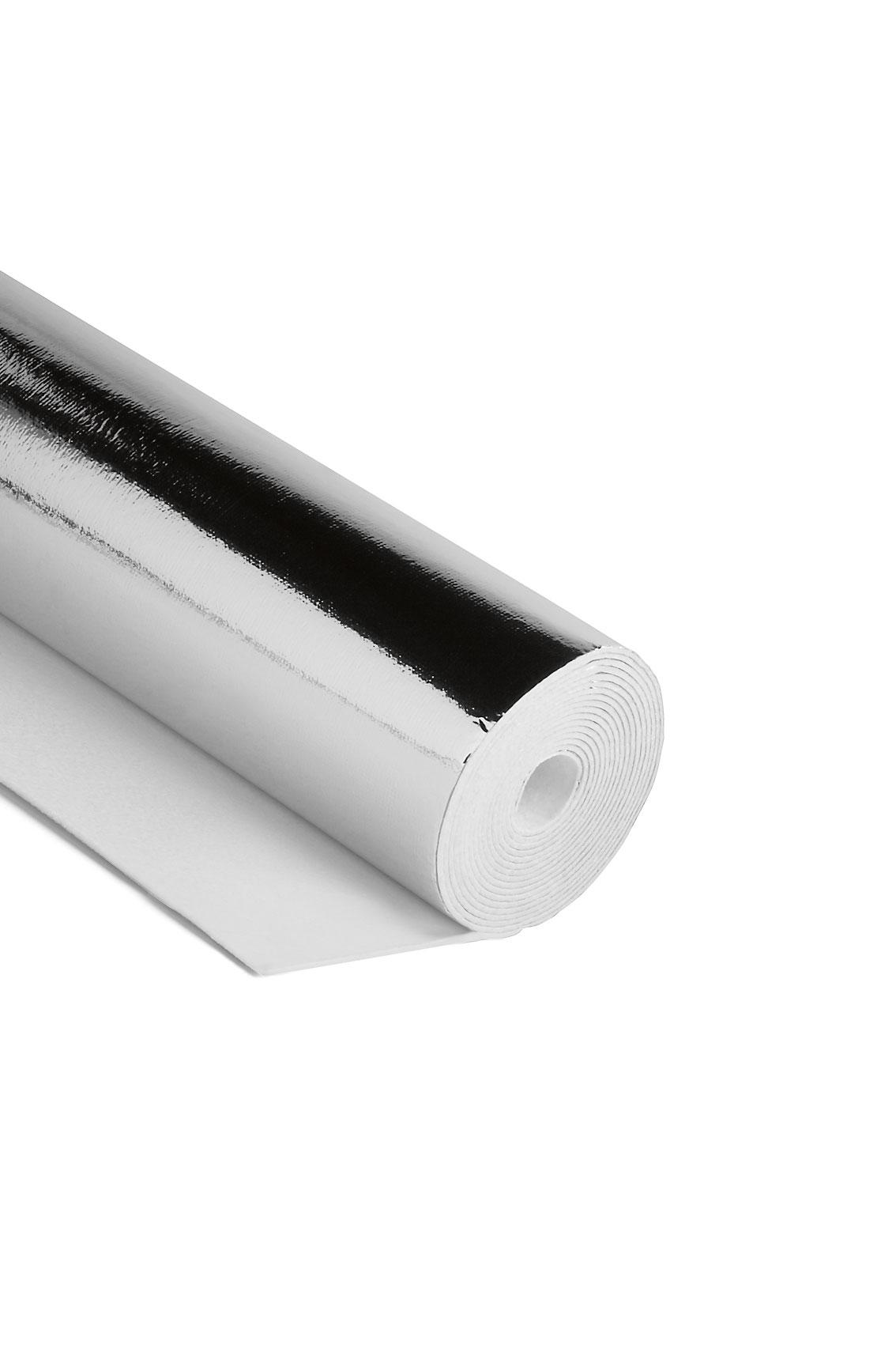 Heizkörper Polystyrol Dämmung Noma Reflex 3mm Rolle 0,5x5m Bild 1