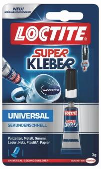 Loctite Sekundenkleber / Superkleber Universal 3g Bild 1