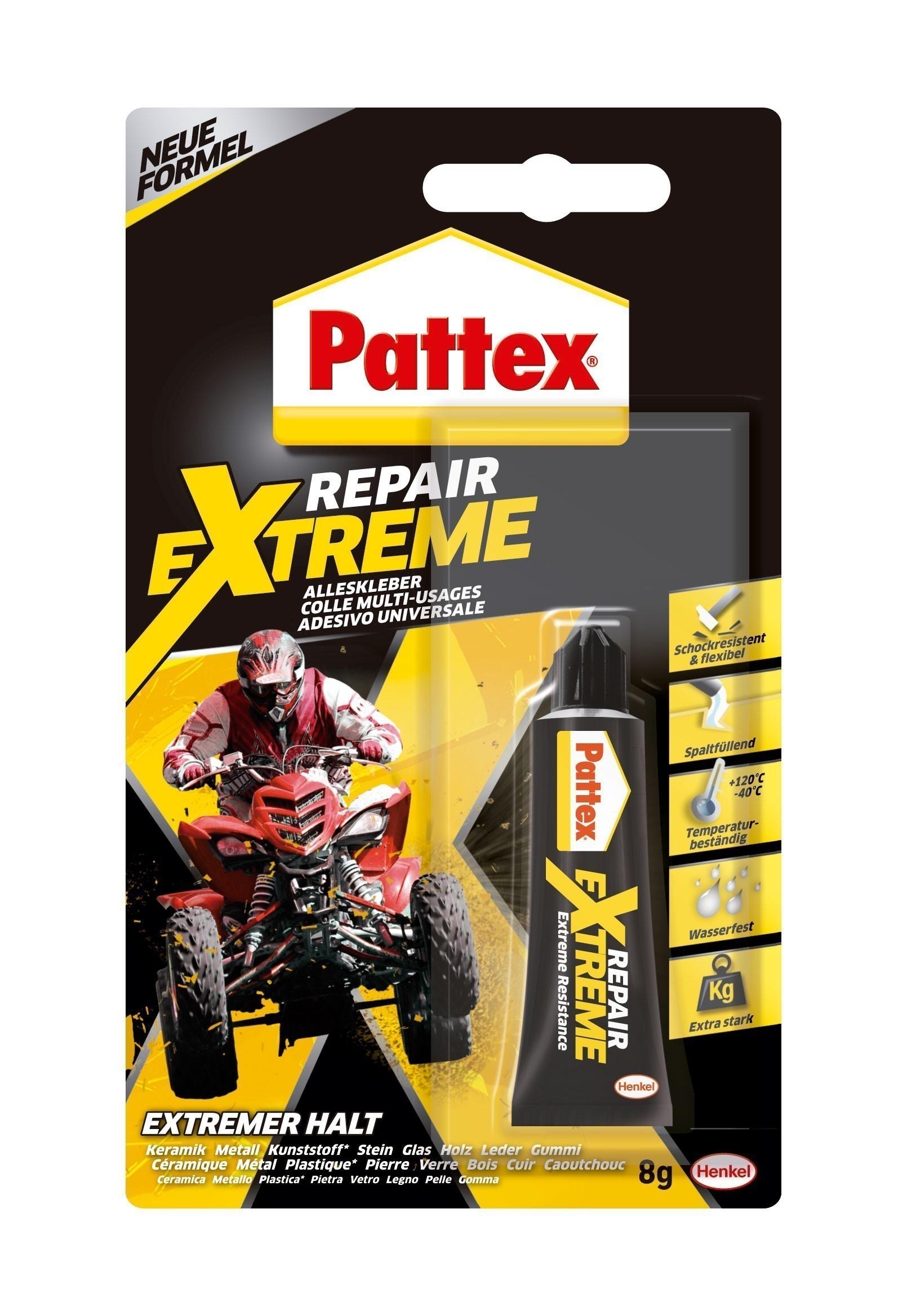 Pattex Alleskleber / 100% Repair Gel 8g Bild 1
