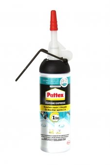 Pattex Express Silikon transparent 100ml Bild 1
