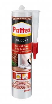 Pattex Haus & Bau Silikon dunkelbraun 300ml Bild 1