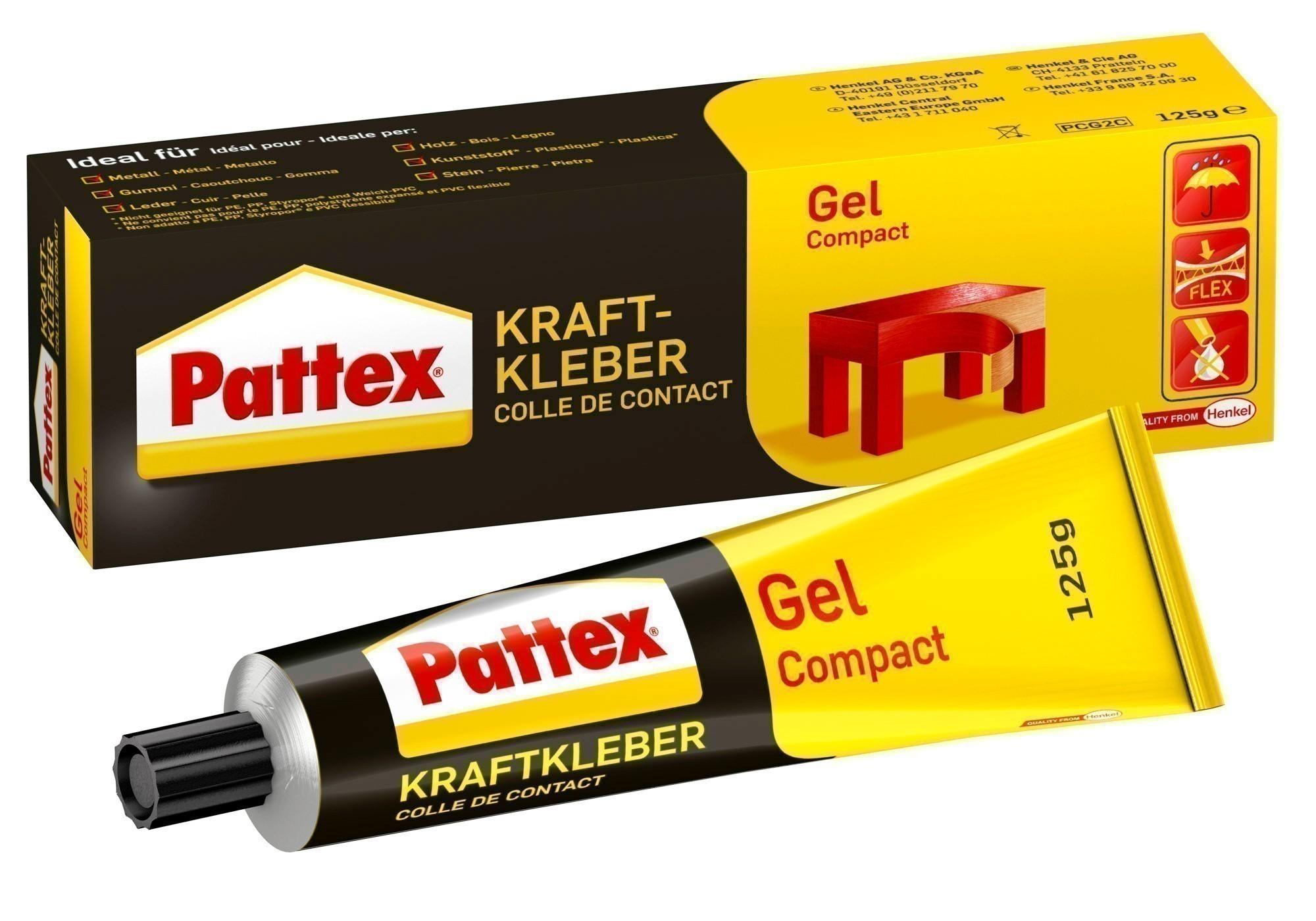Pattex Kraftkleber Gel / Compact 125g Bild 1