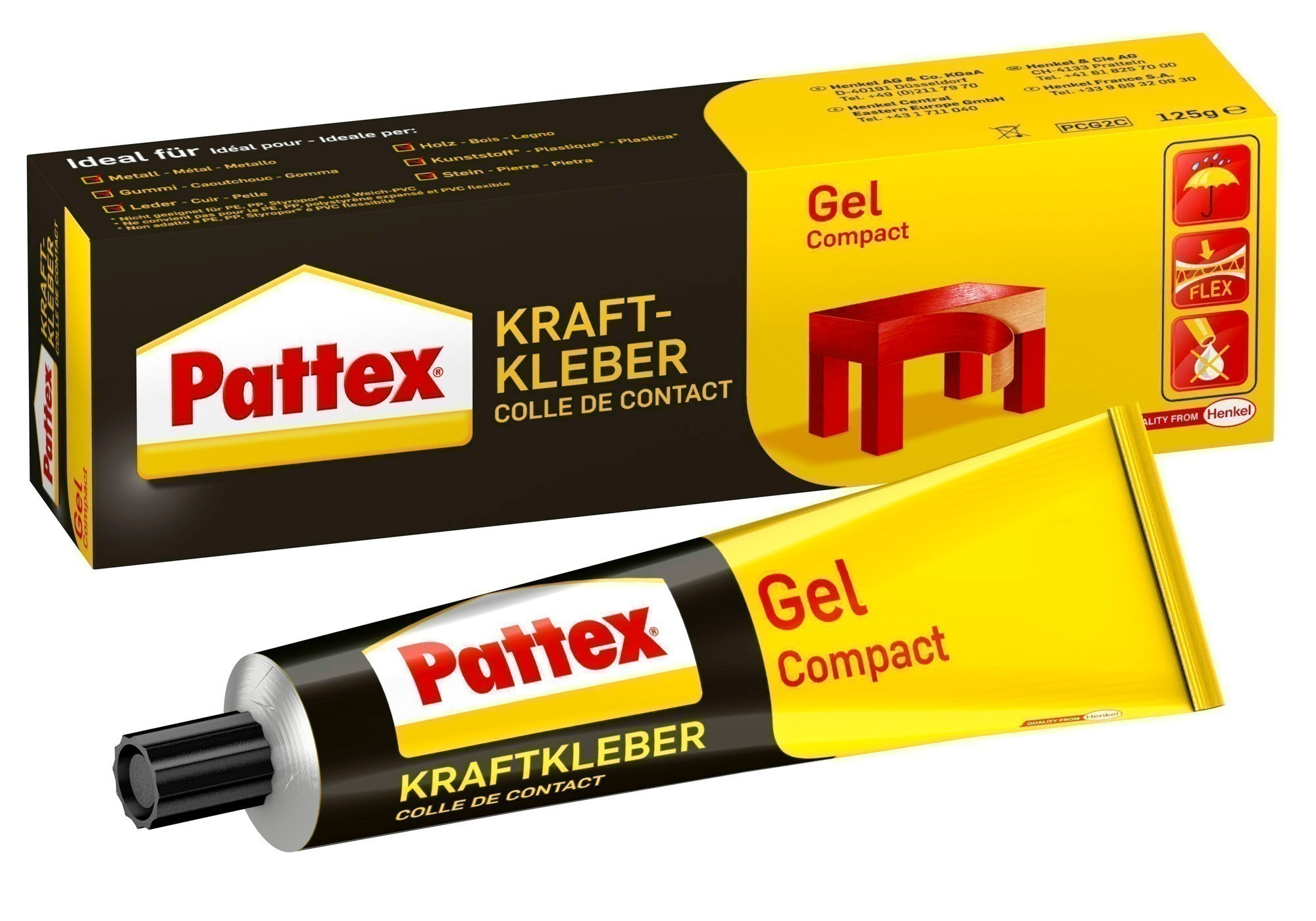 Pattex Kraftkleber Gel / Compact 50g Bild 1