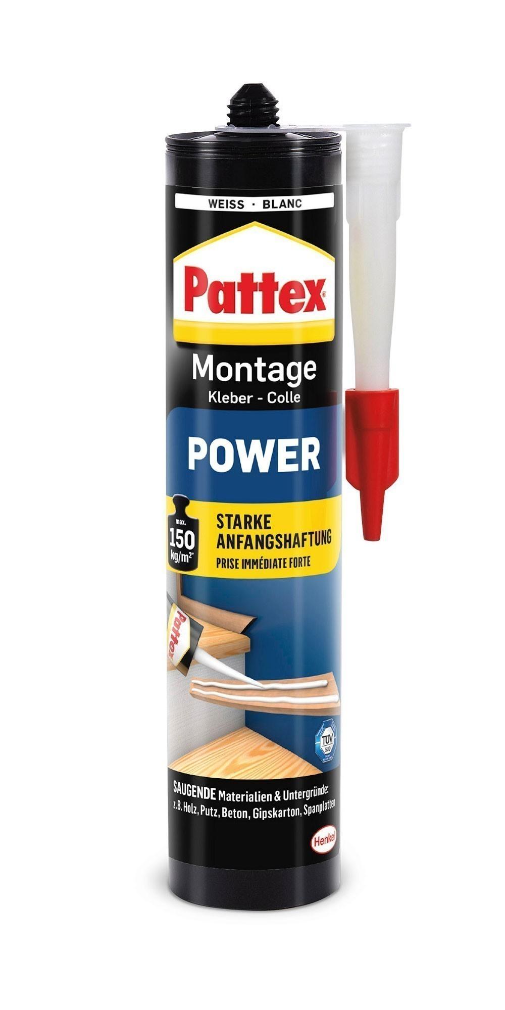 Pattex Montage Kraftkleber Power weiß 370g Bild 1