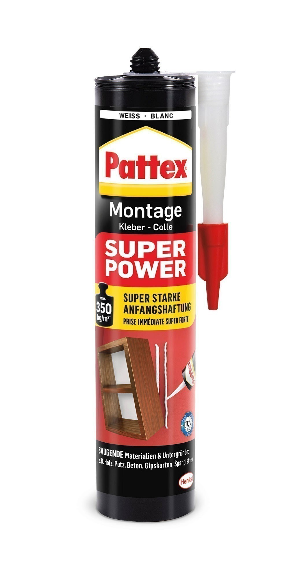 Pattex Montagekleber Super Power 370g Bild 1