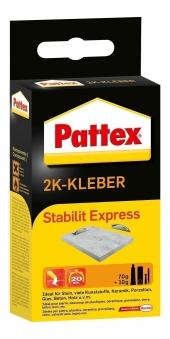 Pattex Power Kleber / 2Komponenten-Kleber Stabilit Express 80g Bild 1