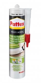 Pattex Putz & Fassade Profi Acryl altweiß 300ml Bild 1