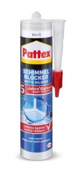 Pattex Schimmel Blocker Aktiv Silikon weiß 300ml Bild 1