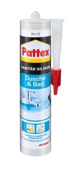 Pattex Silikon / Dusche & Bad Silikon weiss 300ml Bild 1