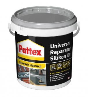Pattex Silikon / Universal Reparatur Silikon grau 750g Bild 1