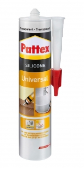 Pattex Universal Silikon transparent 300ml Bild 1
