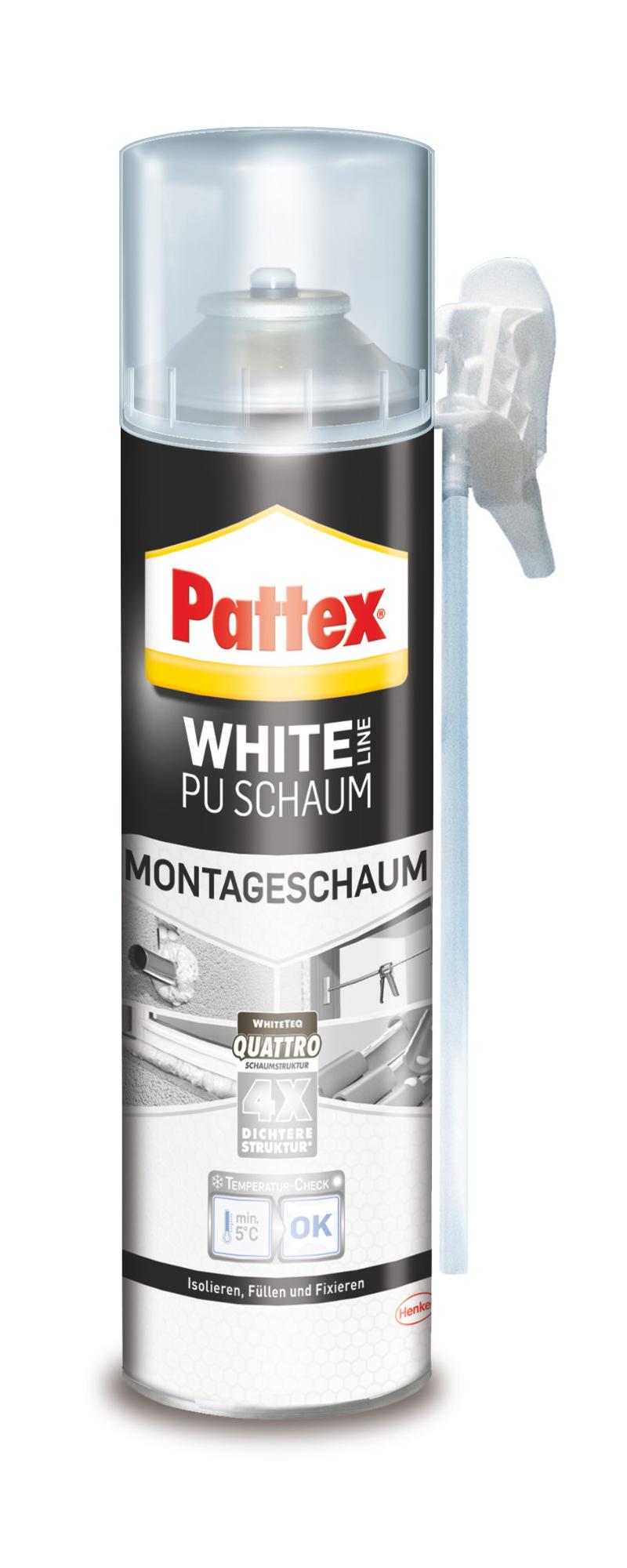 Pattex White Line Montageschaum 500ml Bild 1