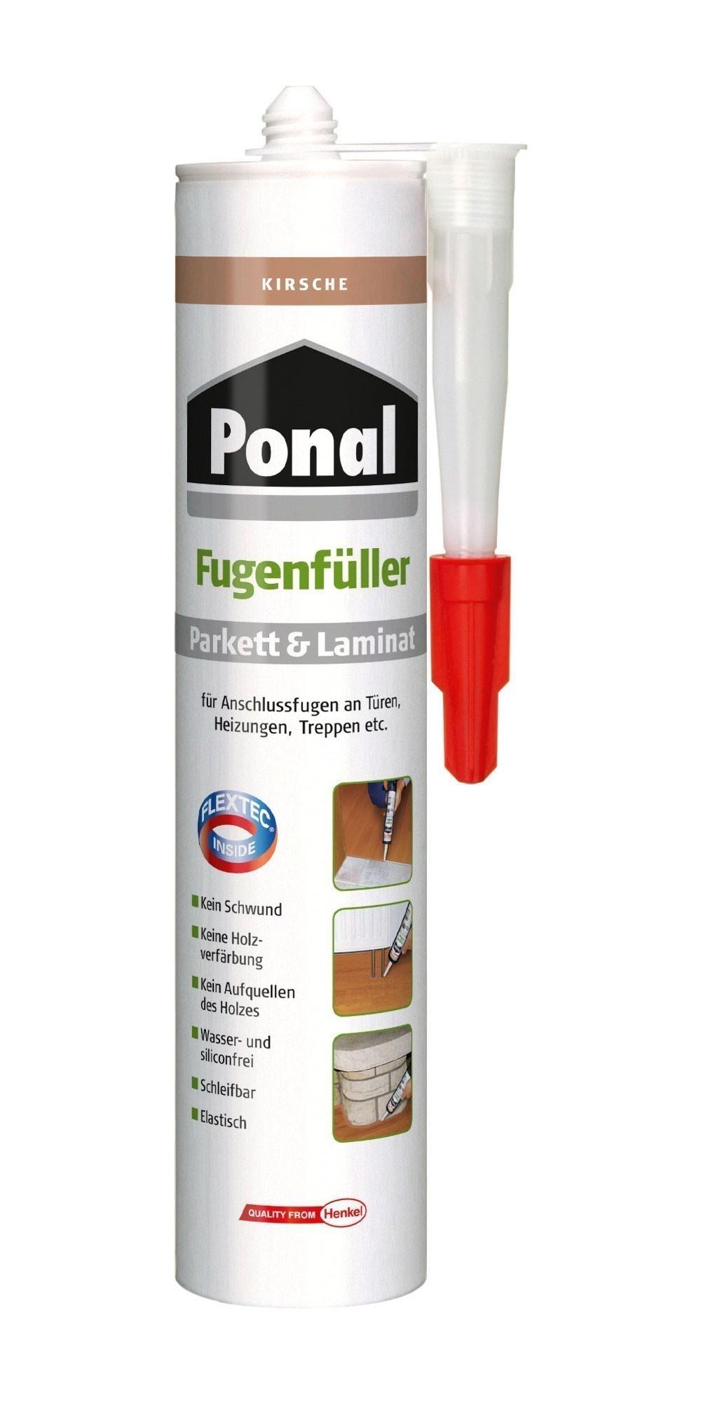 Ponal Fugenfüller Parkett / Laminat 280 ml Kirsche Bild 1