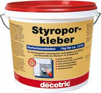 Styroporkleber 1 kg gebrauchsfertig decotric Bild 1