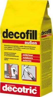 Decofill Spachtelmasse 5 kg, außen decotric Bild 1