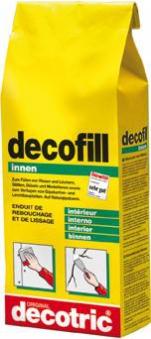 Decofill Spachtelmasse innen, 5 kg,Tüte decotric Bild 1