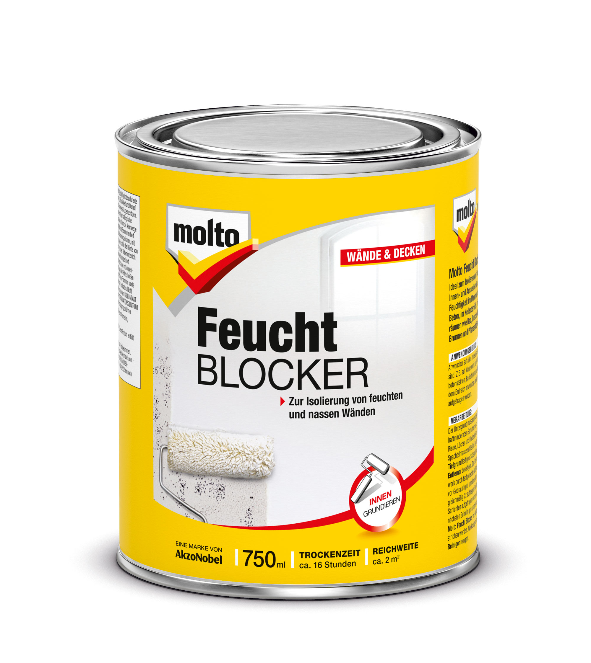 Molto Feucht-Blocker 750 ml Bild 1