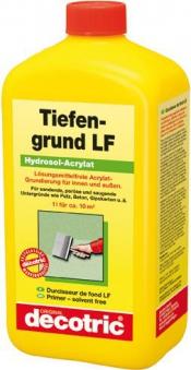 Tiefengrund 2,5 l, LF Hydrosol-Acrylat decotric Bild 1