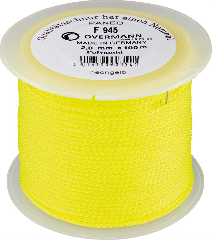 Maurerschnur Polyamid 2,0mm 100m neon-gelb Bild 1