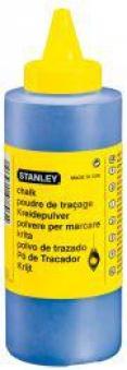 Schlagschnur-Kreide 225g blau Stanley Bild 1