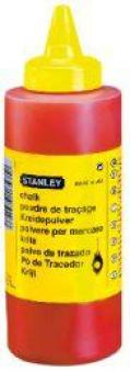 Schlagschnur-Kreide 225g rot Stanley Bild 1