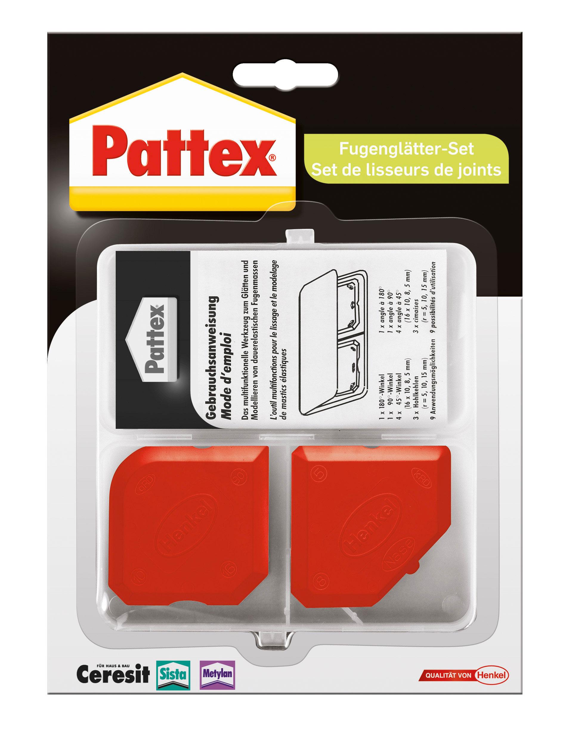 Pattex Werkzeuge / Fugenglätter-Set 2 Stück Bild 1