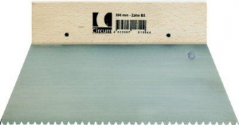 Zahnspachtel 250mm Z6/C4 CircumPRO Bild 1