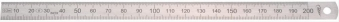 Biegsamer Stahlmaßstab 1000x20x0,5mm 1/2 HP Bild 1